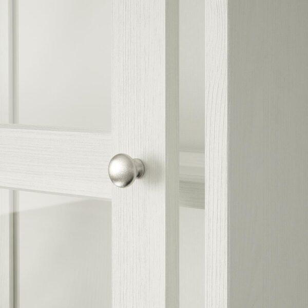 ХАВСТА Комбинация с раздвижными дверьми, белый 121x47x212 см   292.659.19