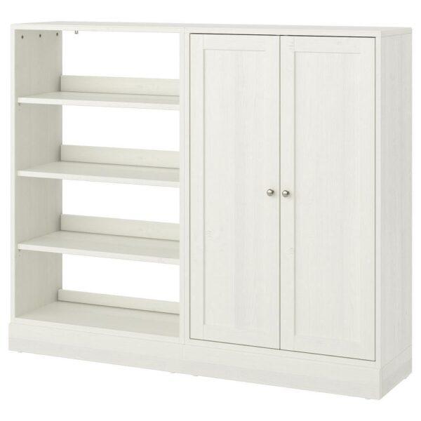 ХАВСТА Комбинация д/хранения, белый 162x37x134 см | 492.658.38