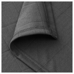 ОДДХИЛЬД Плед, темно-серый 120x170 см | 804.443.76