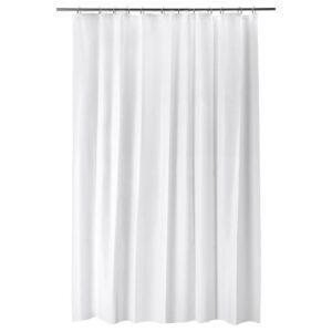 БЬЕРСЕН Штора для ванной, белый 180x200 см | 204.437.04