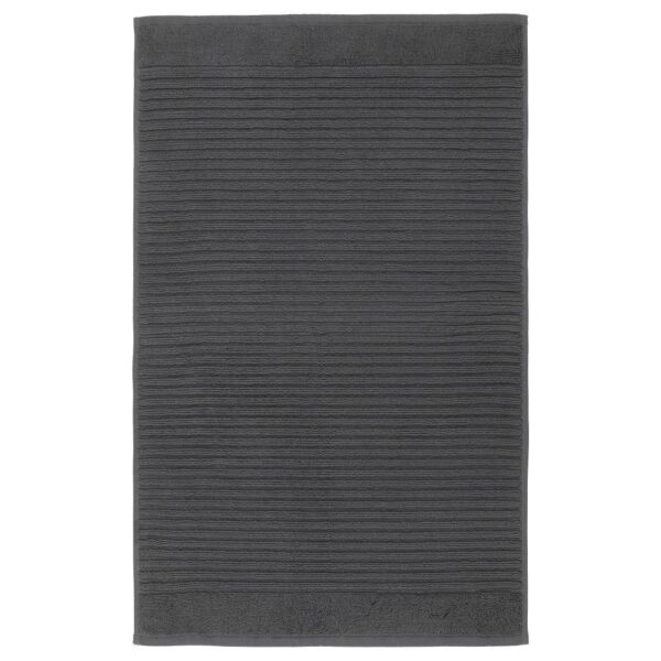 АЛЬСТЕРН Коврик для ванной, темно-серый 50x80 см | 204.473.49