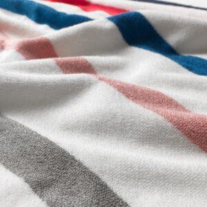 ФОСКОН Банное полотенце, белый/разноцветный 70x140 см | 204.530.95