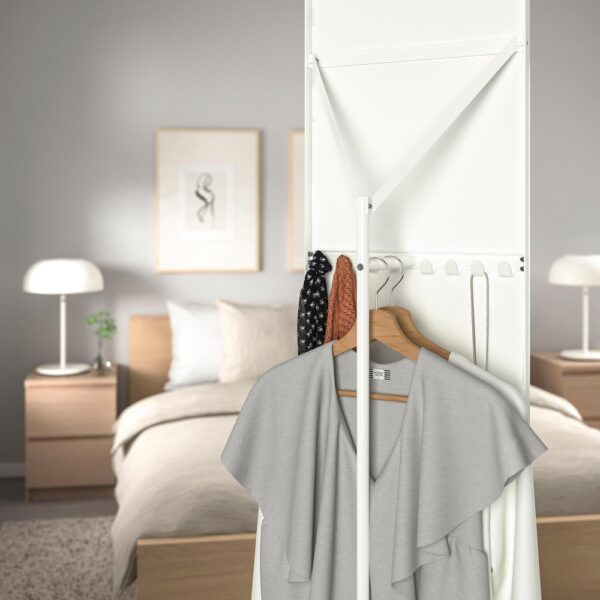 ВЕННЕСЛА Зеркало напольное, белый 45x178 см | 203.982.59