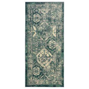 ВОНСБЭК Ковер, короткий ворс, зеленый 80x180 см | 204.500.30