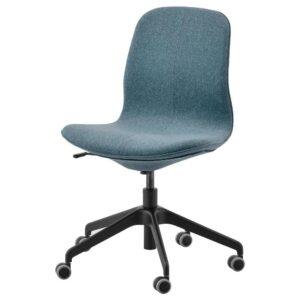 ЛОНГФЬЕЛЛЬ Рабочий стул, Гуннаред синий/черный | 692.100.05
