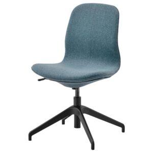 ЛОНГФЬЕЛЛЬ Конференц-стул, Гуннаред синий/черный | 192.097.97