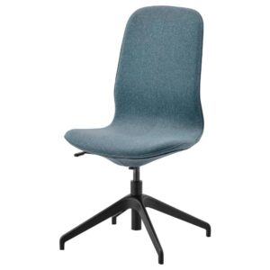 ЛОНГФЬЕЛЛЬ Конференц-стул, Гуннаред синий/черный | 992.098.02