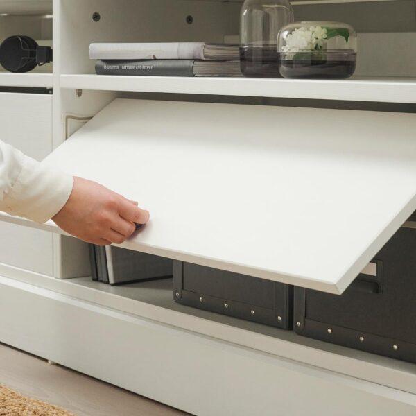 ХАВСТА Шкаф для ТВ, комбинация, белый 282x47x212 см | 092.658.35