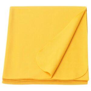 МАНДАРИНРОЗ Плед, желтый 130x160 см | 204.500.54