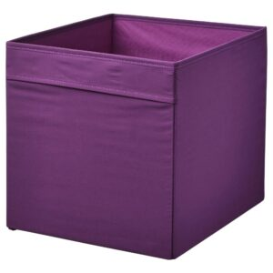 ДРЁНА Коробка, фиолетовый 33x38x33 см | 204.439.83