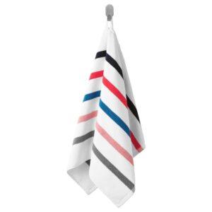ФОСКОН Полотенце, белый/разноцветный 50x100 см | 004.531.00