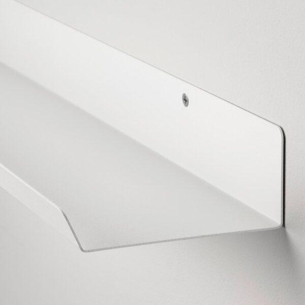 МАЛЬМБЭКК Полка-витрина, белый 60 см | 604.463.38