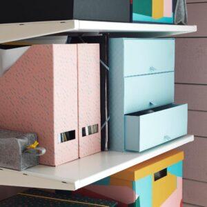 ПАЛЬРА Мини-комод с 3 ящиками, голубой 31x26x31 см | 804.439.18
