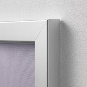 БЬЁРКСТА Картина с рамой, мост/цвет алюминия 200x140 см - 492.978.39