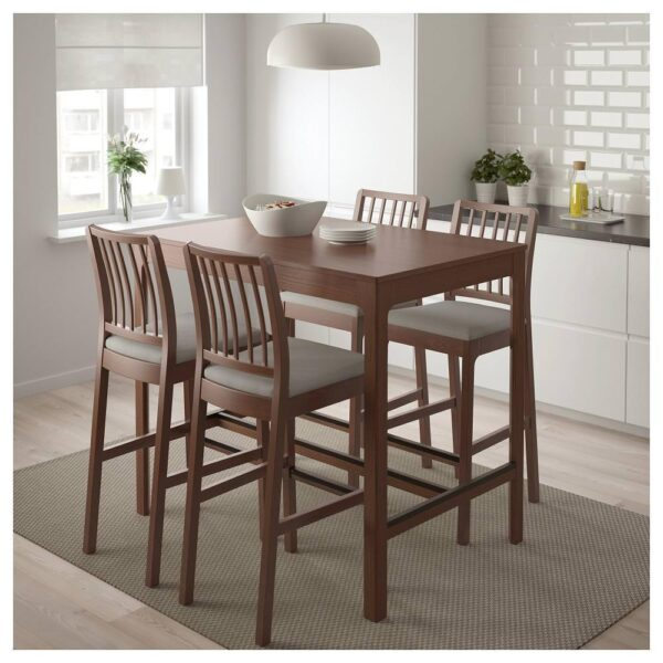 ЭКЕДАЛЕН Барный стол, коричневый 120x80 см - 504.005.19