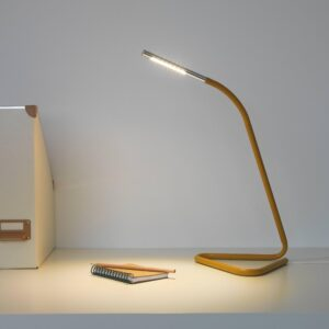 ХОРТЕ Рабочая лампа, светодиодная, желтый/серебристый - 604.469.89