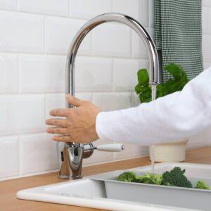 ИНШЁН Кухонный смеситель с сенсором, хромированный - 403.666.67