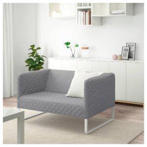 КНОППАРП 2-местный диван, Книса светло-серый - 504.246.24