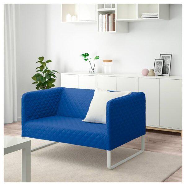 КНОППАРП 2-местный диван, Книса ярко-синий - 904.246.84