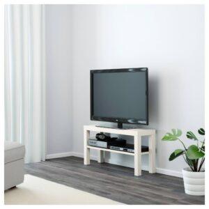 ЛАКК Тумба под ТВ, белый 90x26x45 см - 604.500.90