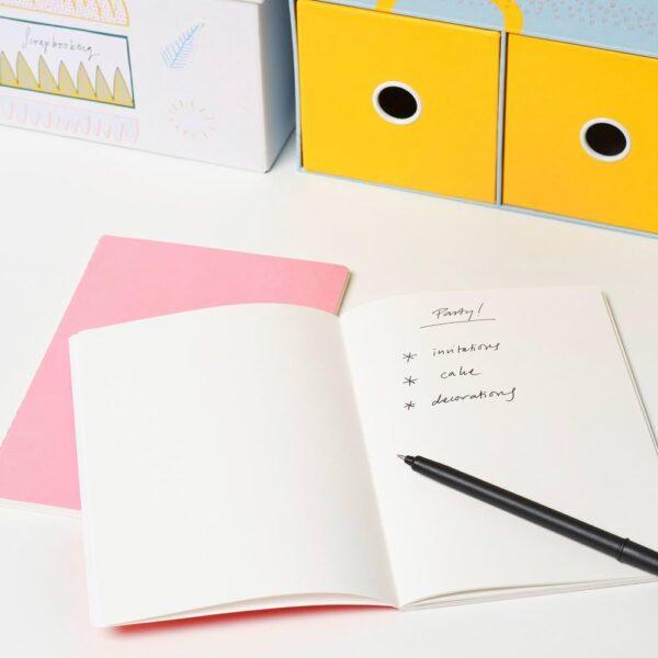 ЛАНКМОЙ Книжка для записей, розовый - 804.340.42