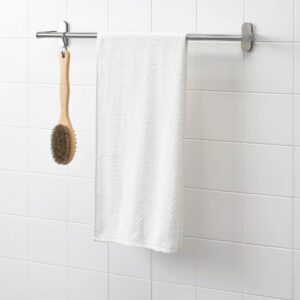 НЭРСЕН Банное полотенце, белый 55x120 см - 104.473.59
