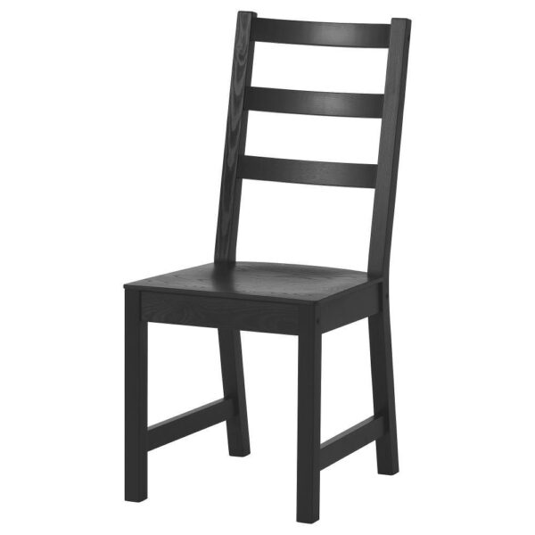 НОРДВИКЕН / НОРДВИКЕН Стол и 2 стула, черный/черный 74/104x74 см - 393.050.76
