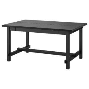 НОРДВИКЕН Раздвижной стол, черный 152/223x95 см - 703.696.07