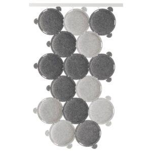 ОДДЛАУГ Звукопоглощающая панель, серый - 204.273.70