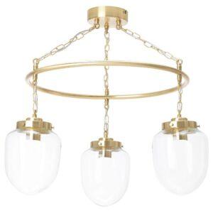 ОТЕРСКЕН Подвесной светильник с 3 лампами, прозрачное стекло - 304.370.62