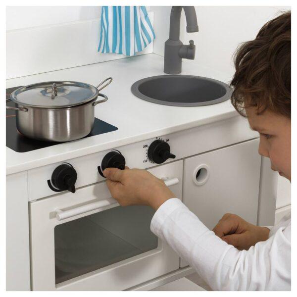СПАЙСИГ Детская кухня с гардинами, 55x37x98 см - 604.278.15