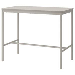 ТОММАРЮД Стол, светло-серый 70x130/104 см - 893.048.09