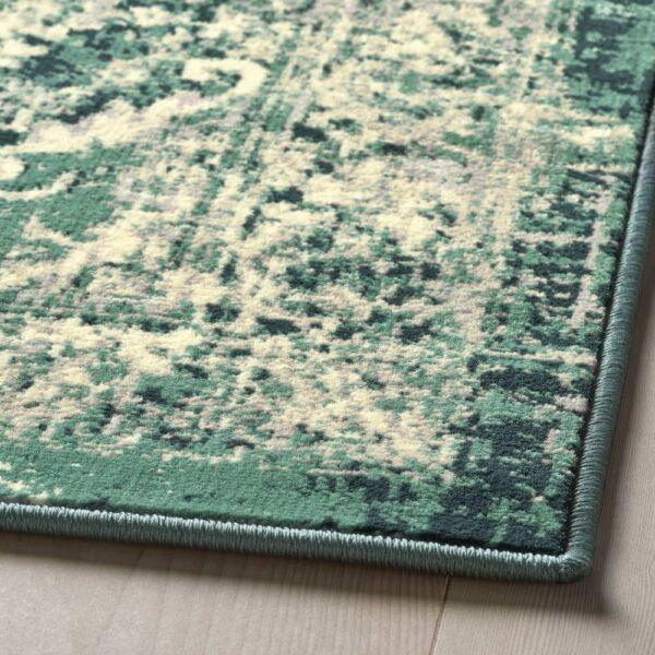 ВОНСБЭК Ковер, короткий ворс, зеленый 200x300 см - 704.500.37