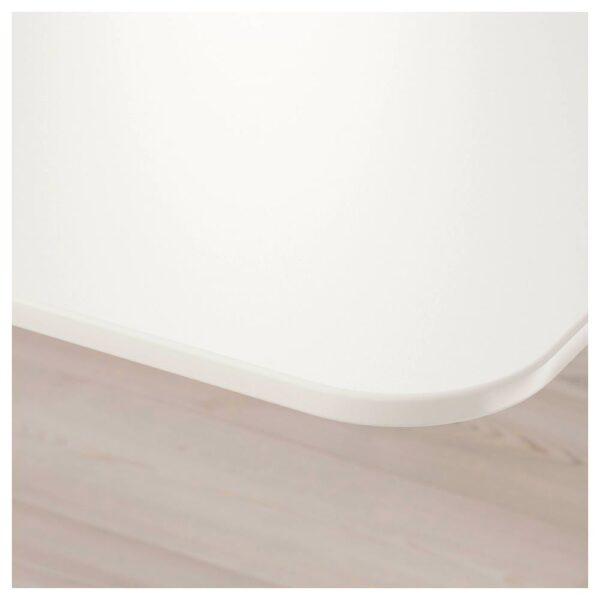 БЕКАНТ Стол, комбинация, белый 320x220 см - 092.784.61