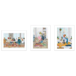 БИЛЬД Постер, Современный Ларссон 40x50 см - 204.566.02