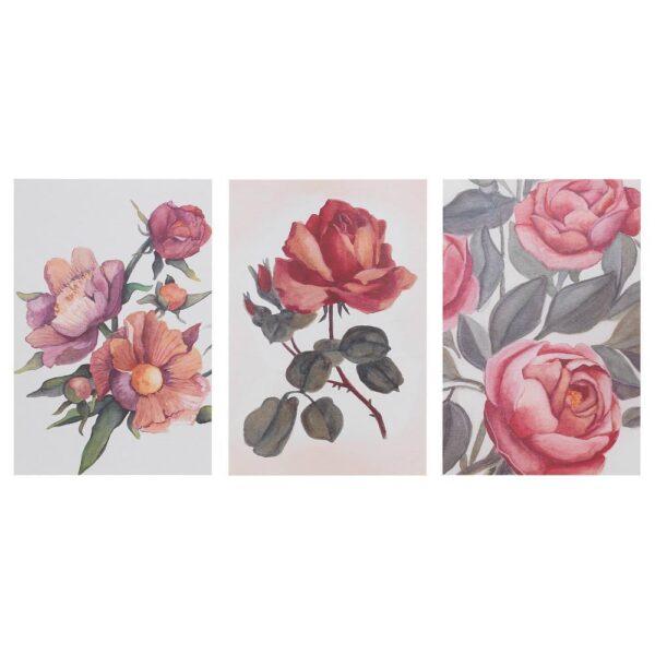 БОККАРА Открытка, Цветы розовый 10x15 см - 004.653.39
