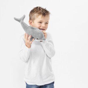 ГЕНОМБЛЁТ Мягкая игрушка, дельфин 30 см - 204.423.75