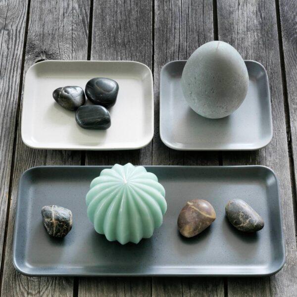 ХЕМБЮГТ Неароматич свеча формовая, яйцевидной формы/серый 11.5 см - 504.275.09