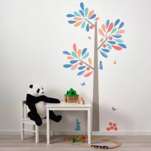 КИННАРЕД Декоративные наклейки, ростомер-дерево 160 см - 204.484.62