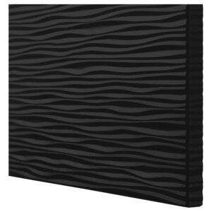 ЛАКСВИКЕН Дверь, черный 60x64 см - 203.839.84