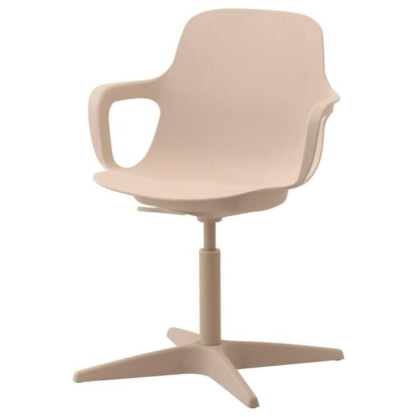ОДГЕР Рабочий стул, белый/бежевый - 503.952.64
