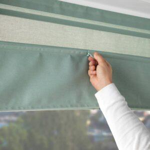 РИНГБЛУММА Римская штора, зеленый 120x160 см - 204.537.31