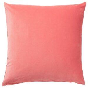 САНЕЛА Чехол на подушку, светлый коричнево-красный 50x50 см - 704.473.04
