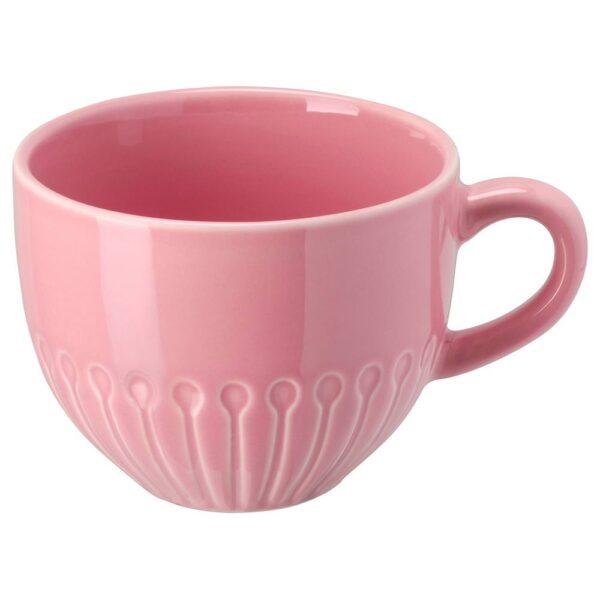 СТРИММИГ Кружка, каменная керамика розовый 36 сл - 404.431.71