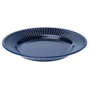 СТРИММИГ Тарелка десертная, каменная керамика синий 21 см - 504.263.74