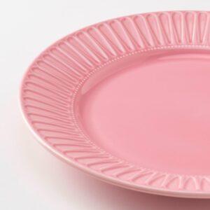 СТРИММИГ Тарелка, каменная керамика розовый 27 см - 804.431.74