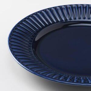 СТРИММИГ Тарелка, каменная керамика синий 27 см - 804.263.82