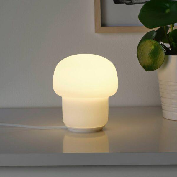 ТОКАБУ Лампа настольная, стекло молочный - 603.580.20