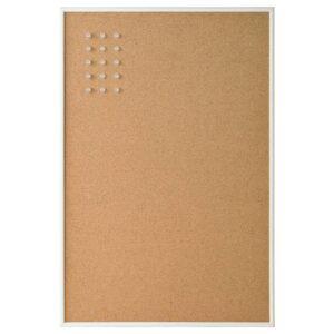 ВЭГГИС Доска для записей, с кнопками, белый, 58x39 см - 904.522.43