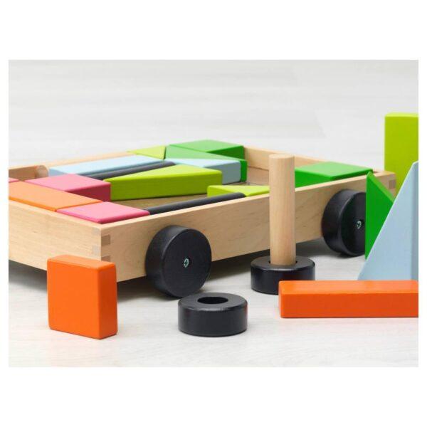 МУЛА 24 кубика с тележкой - 604.521.31